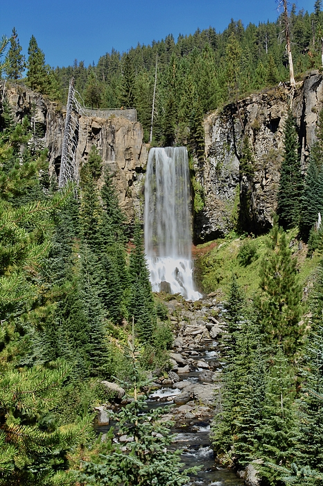 Tumalo Falls by Brian Eberly